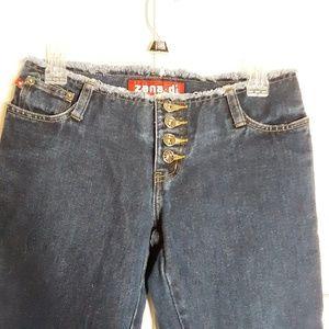 Zana di Button Front Jean's Sz 1 Jr's Flare